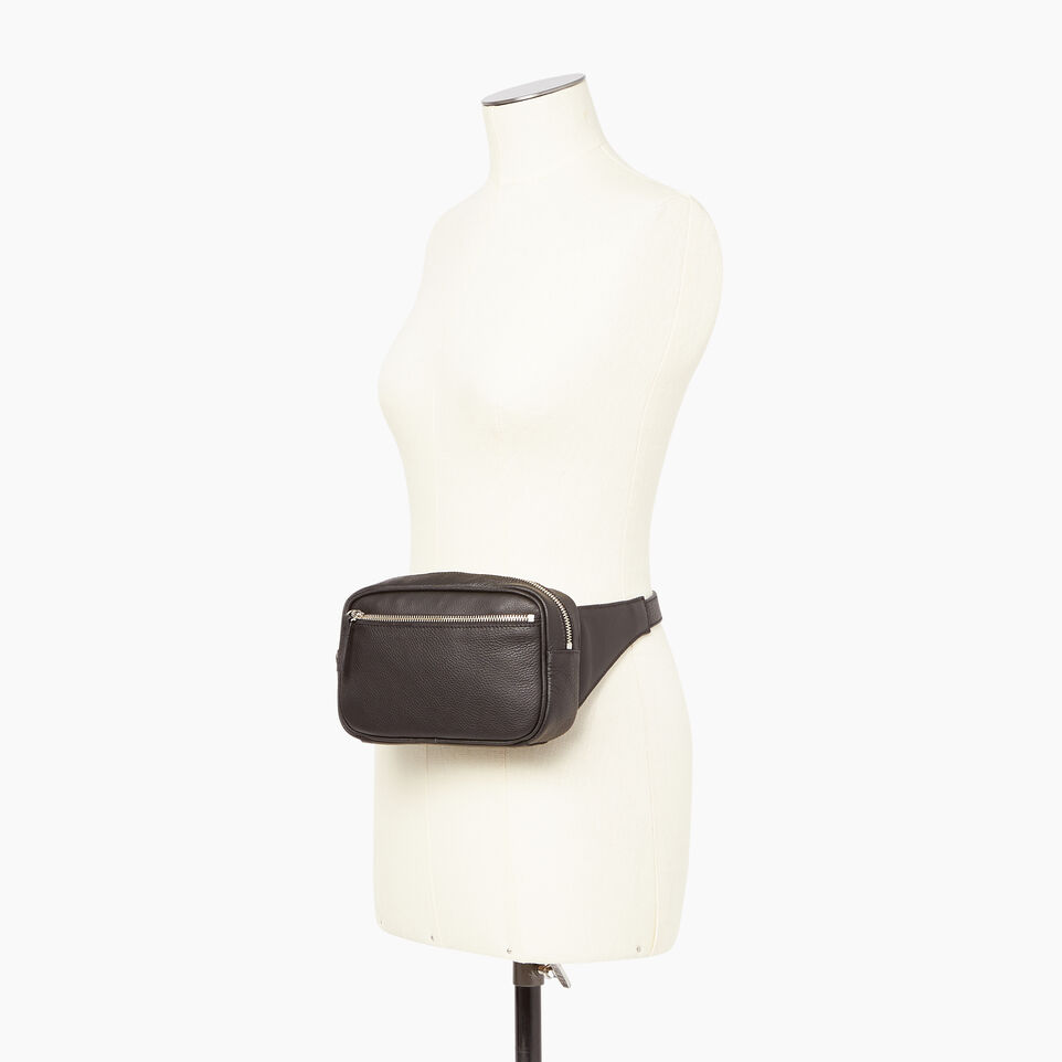 Roots-Leather Our Favourite New Arrivals-Roots Belt Bag-Black-B