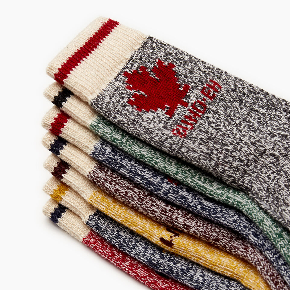 Roots-Sale Kids-Toddler Days Of The Week Sock 7 Pack-Multi-B