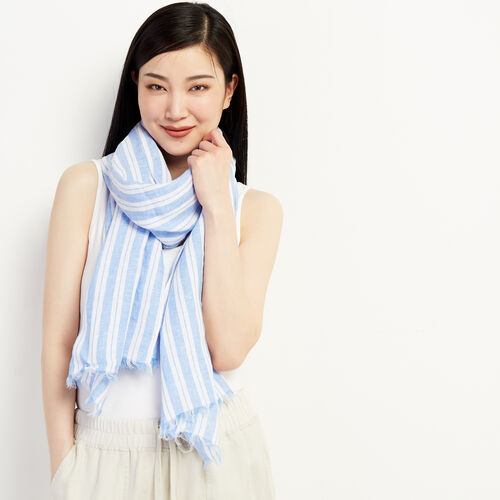 Roots-Women New Arrivals-Lilouet Scarf-Multi-A
