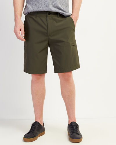 Roots-New For This Month Journey Collection-Journey Tech Short 9.5 In-Loden-A