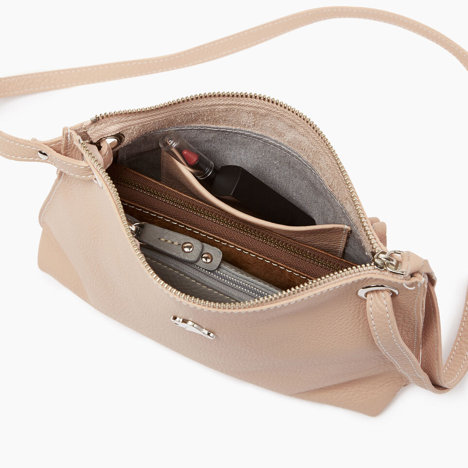 Roots-Leather  Handcrafted By Us Our Favourite New Arrivals-Edie Bag-Pink Mist-D