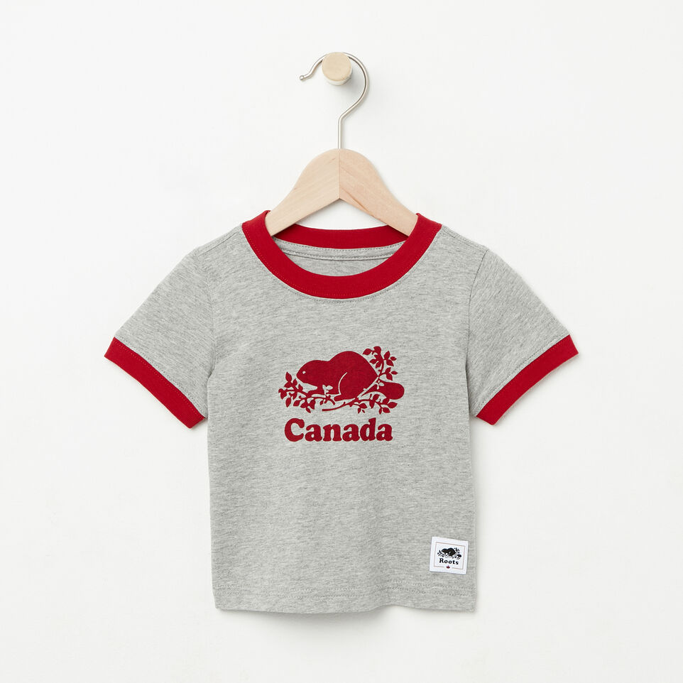 Roots-Baby Cooper Canada Ringer T-shirt