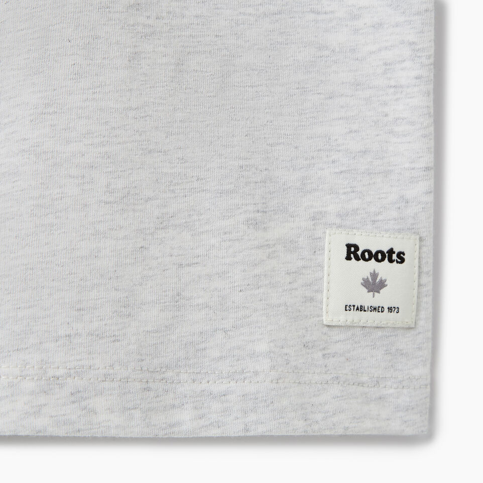Roots-Kids T-shirts-Girls Glow-in-the-dark T-shirt-White Mix-C