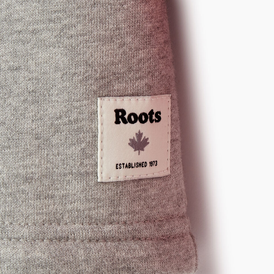 Roots-Kids Our Favourite New Arrivals-Girls 2.0 Colour block Raglan Hoody-Grey Mix-D