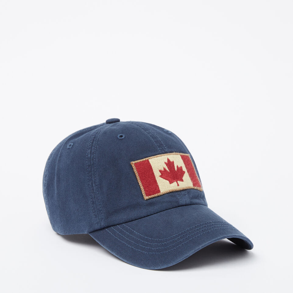 Roots-undefined-Vintage Flag Baseball Cap-undefined-A