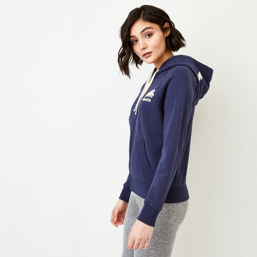 Roots-Women Bestsellers-Original Full Zip Hoody-Eclipse-A