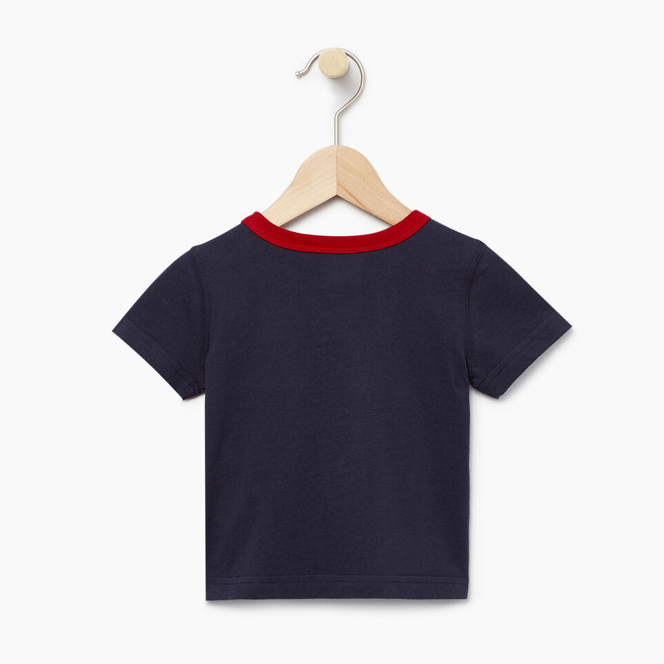 Roots-Kids Our Favourite New Arrivals-Baby Cooper Canada Ringer T-shirt-Navy Blazer-B