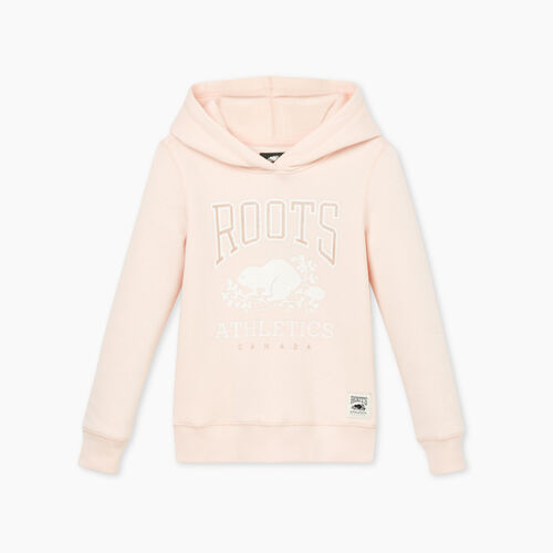 Roots-Sweats Girls-Girls RBA Hoody-Crystal Pink-A