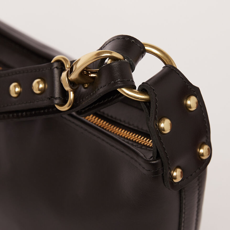 Roots-Winter Sale Leather-Feed Bag Heritage-Black-D