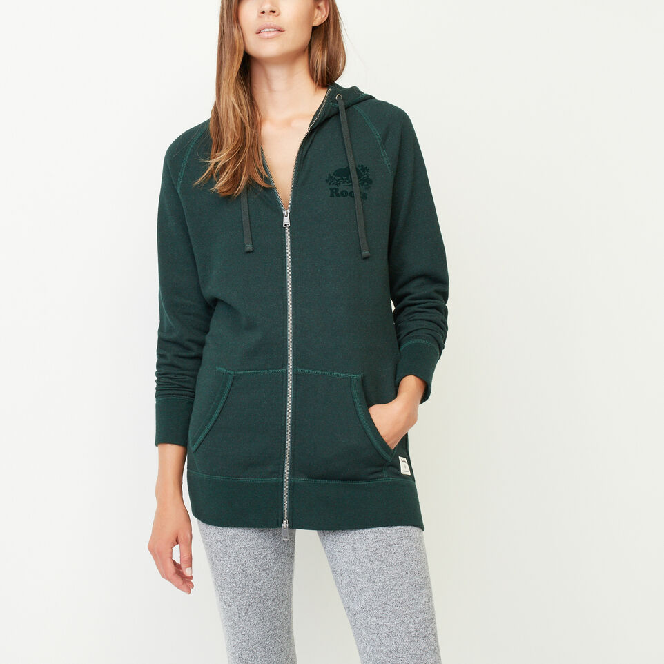 Roots-Capri Full Zip Hoody