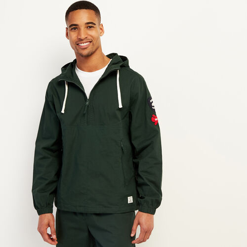 Roots-Men New Arrivals-Wasaga Anorak-Park Green-A