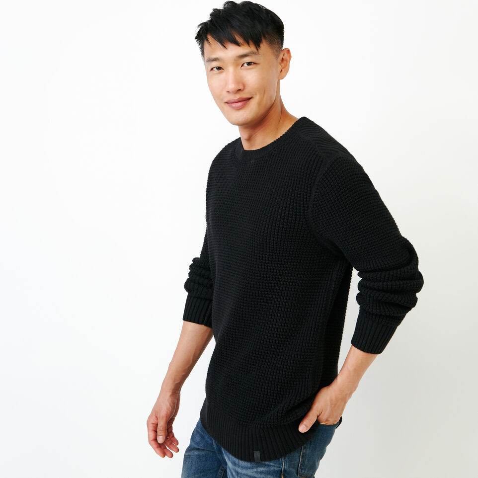 Roots-undefined-Vault Waffle Sweater-undefined-C