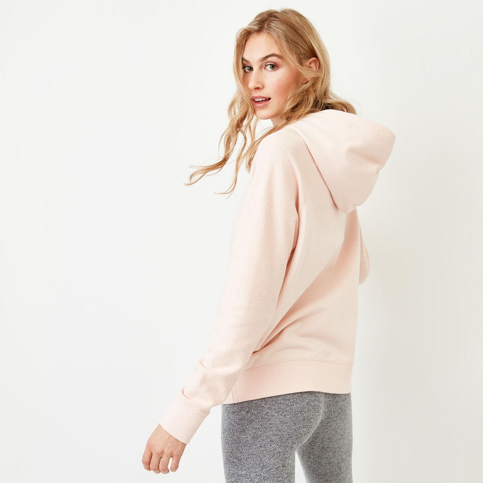 Roots-Women Our Favourite New Arrivals-Weymouth Hoody-Veiled Rose-E