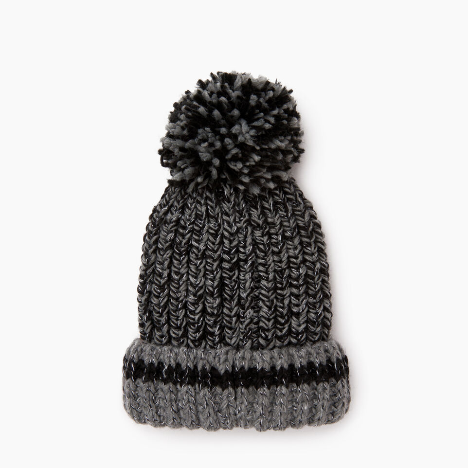 Roots-undefined-Chunky Cabin Pom Pom Toque-undefined-C