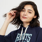 Roots-New For March Rba Collection-RBA Cropped Hoody-Navy Blazer-E