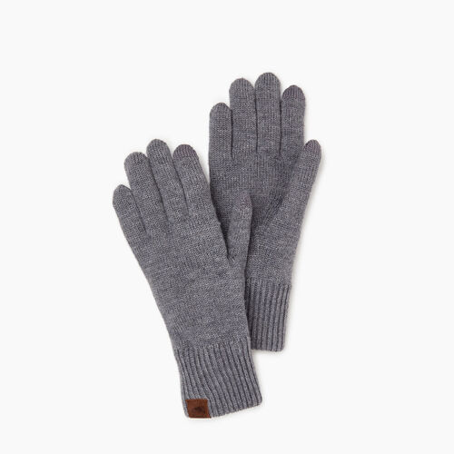Roots-Women Our Favourite New Arrivals-Robson Texting Glove-Grey Mix-A