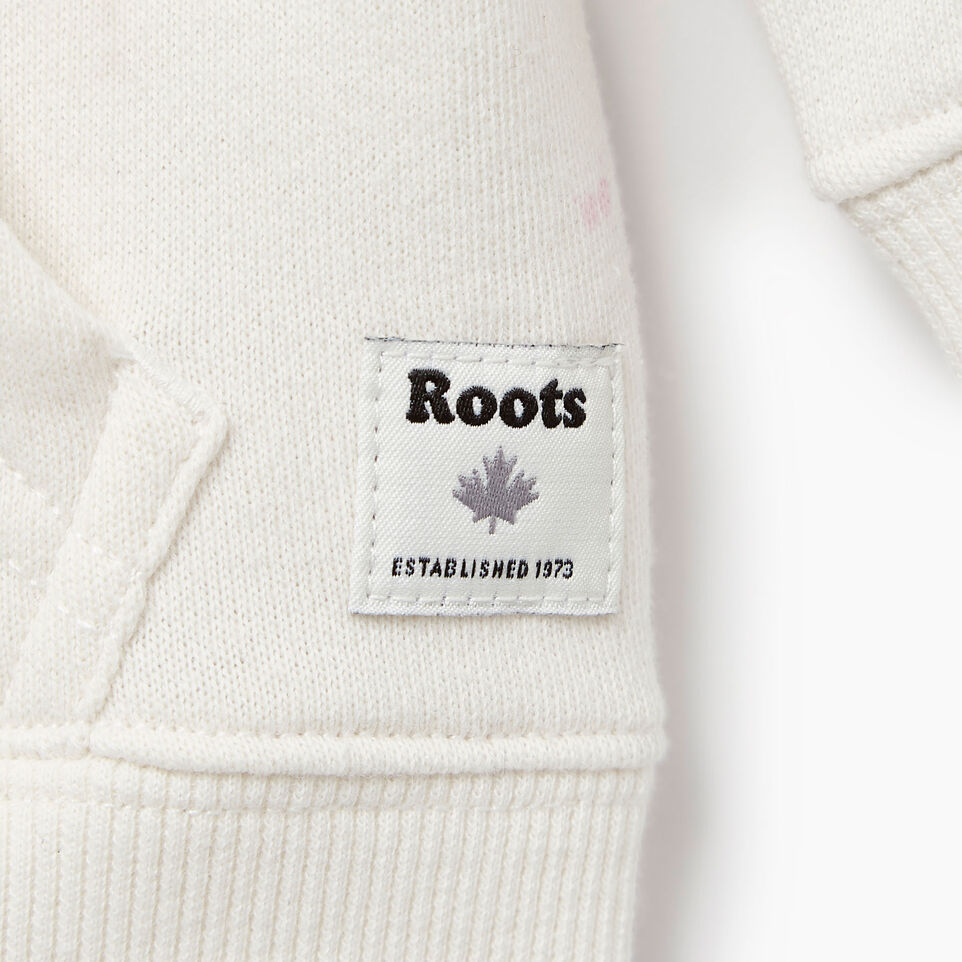 Roots-Kids Our Favourite New Arrivals-Baby Splatter Full Zip Hoody-Cannoli Cream-C