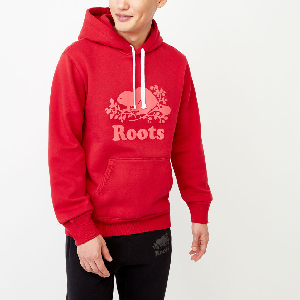 Roots-Men Our Favourite New Arrivals-Cooper Reflect Hoody-Lodge Red-A