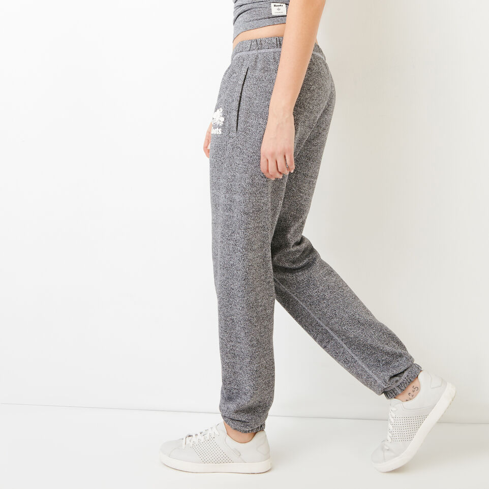 Roots-Women Original Sweatpants-Roots Salt and Pepper Original Sweatpant - Short-Salt & Pepper-C