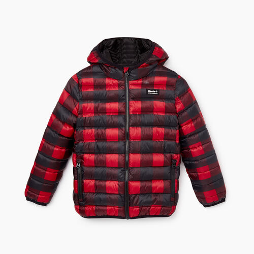 Roots-New For October Kids-Kids Roots Puffer Jacket-Cabin Red-A