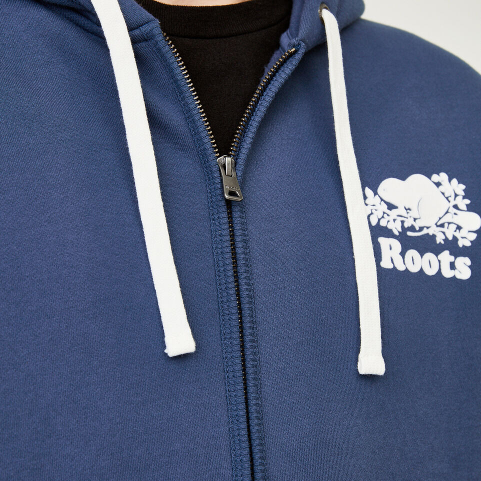 Roots-Men Our Favourite New Arrivals-Original Full Zip Hoody-Sargasso Sea-E