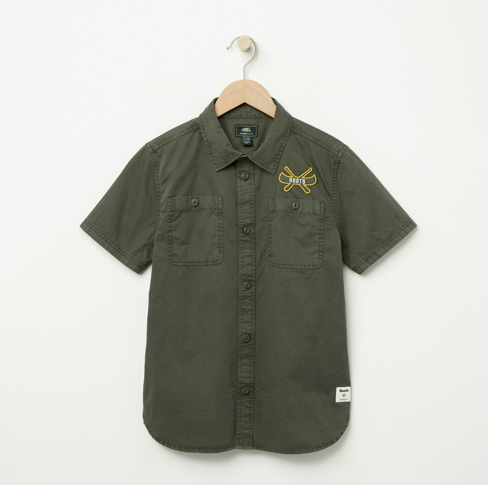 Roots-Boys Twill Utility Shirt