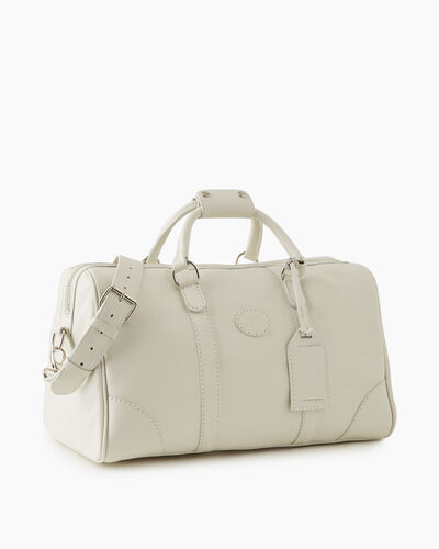 Roots-Leather New Arrivals-Small Banff Bag Cervino-Ivory-A