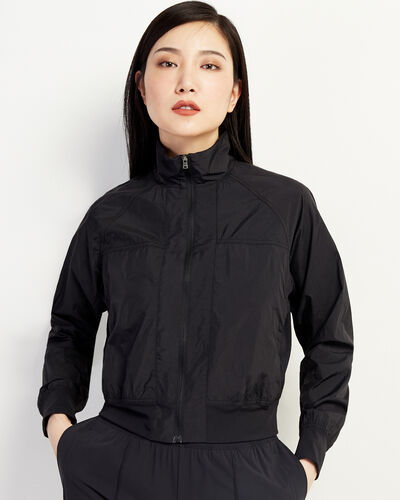Roots-Women Jackets & Outerwear-Journey Packable Jacket-Black-A