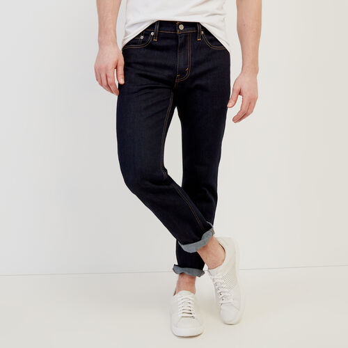 Roots-New For February Levi's-Levi's 511 Slim Fit 30-Denim Blue-A