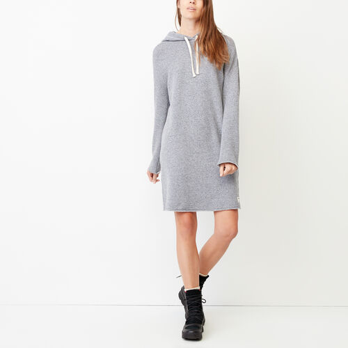 Roots-Women Categories-Cozy Hoody Dress-Salt & Pepper-A