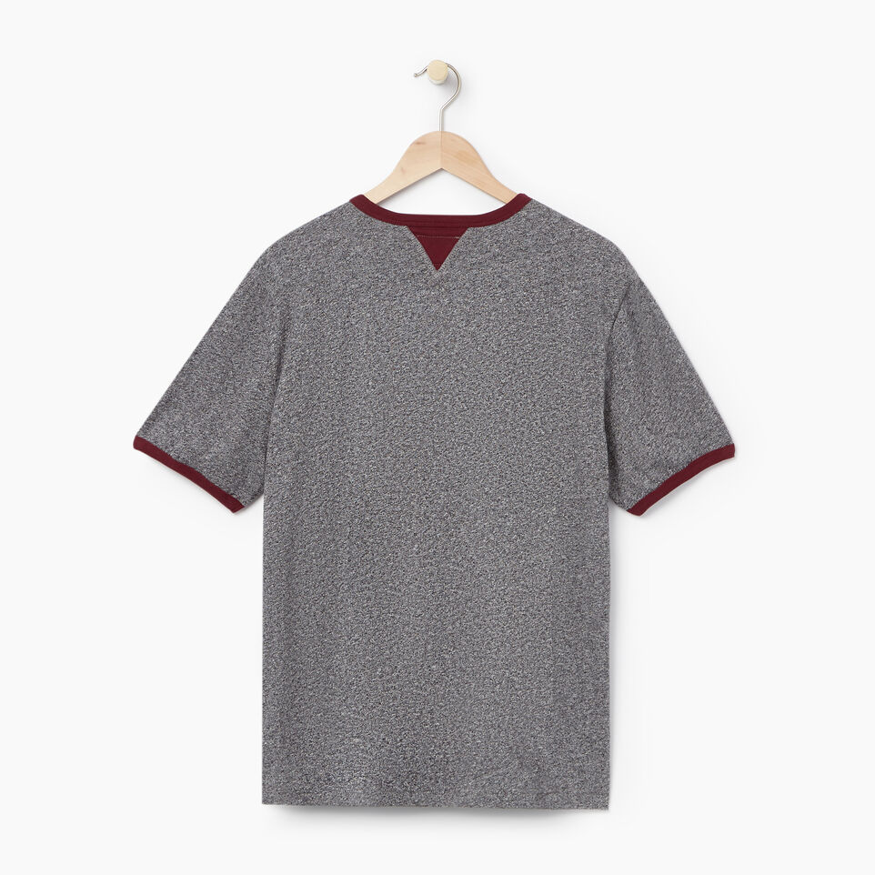 Roots-undefined-Mens Varsity Roots Ringer T-shirt-undefined-B