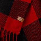 Roots-New For December Today Only: 40% Off Park Plaid Collection-Roots Park Plaid Scarf-Cabin Red-D