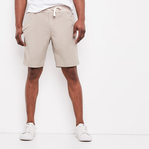 Roots-Men Shorts-Sideline Twill Short-Winter Twig-A