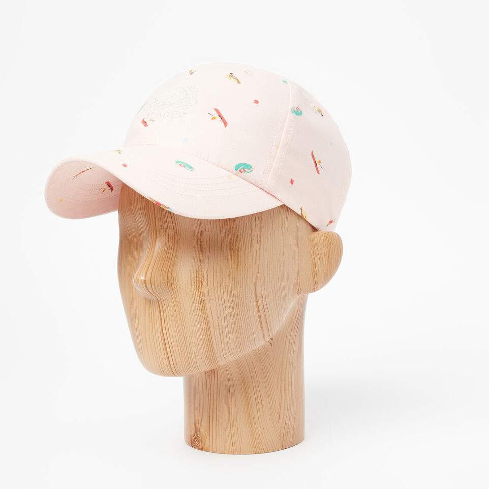 Roots-undefined-Cooper Print Baseball Cap-undefined-B