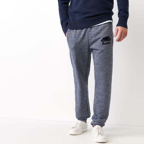 Roots-Men Original Sweatpants-Original Sweatpant-Navy Blazer Pepper-A