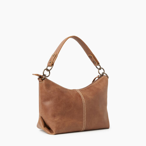 Roots-Leather Handbags-Little Luisa Tribe-Natural-A