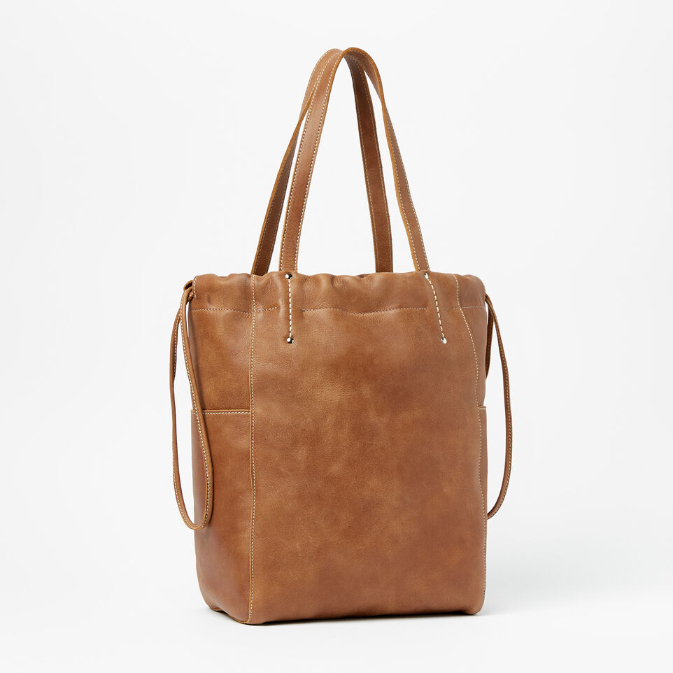 Roots-Drawstring Tote Tribe