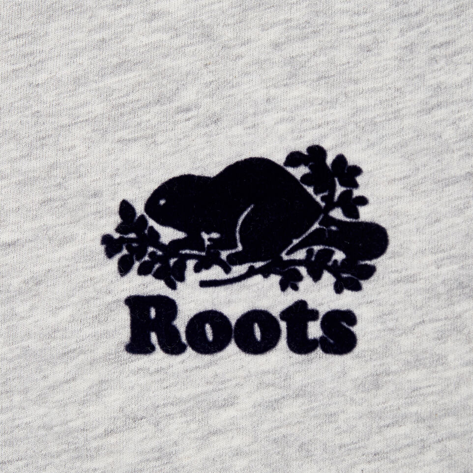 Roots-New For January Women-Womens Baseball Slim T-shirt-Snowy Ice Mix-D
