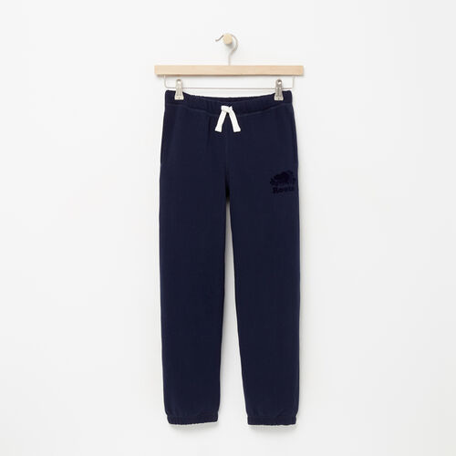 Roots-Kids Sweats-Boys Original Sweatpant-Navy Blazer-A