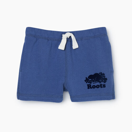Roots-Kids Bottoms-Baby Original Short-True Navy-A