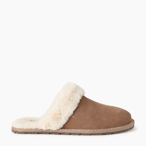 Roots-Footwear New Arrivals-Womens Mule Slipper-Fawn-A