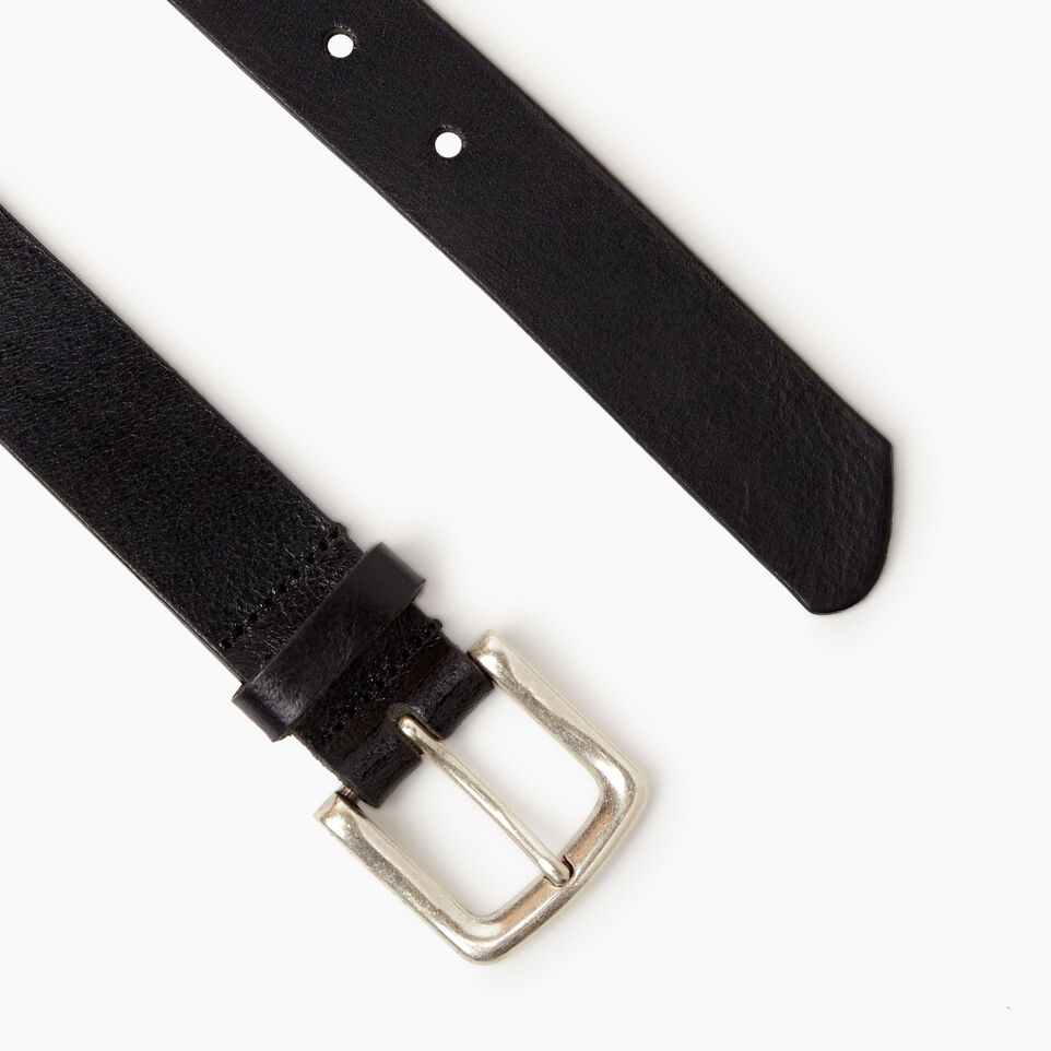 Roots-Leather  Handcrafted By Us Categories-Roots Mens Classic Belt-Black-B