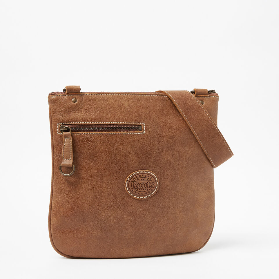 Roots-Leather Handbags-Side Saddle Tribe-Natural-C