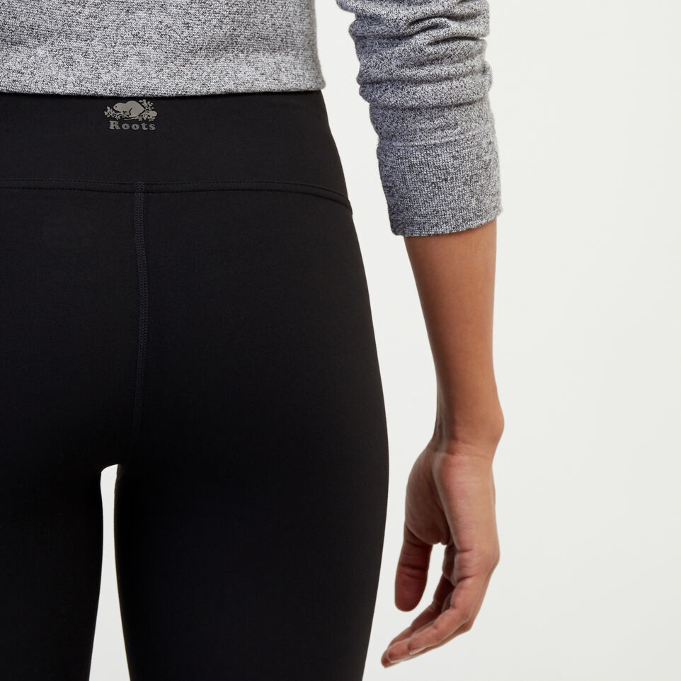 Roots-New For February Journey Collection-High Waist Journey Legging-Black-E