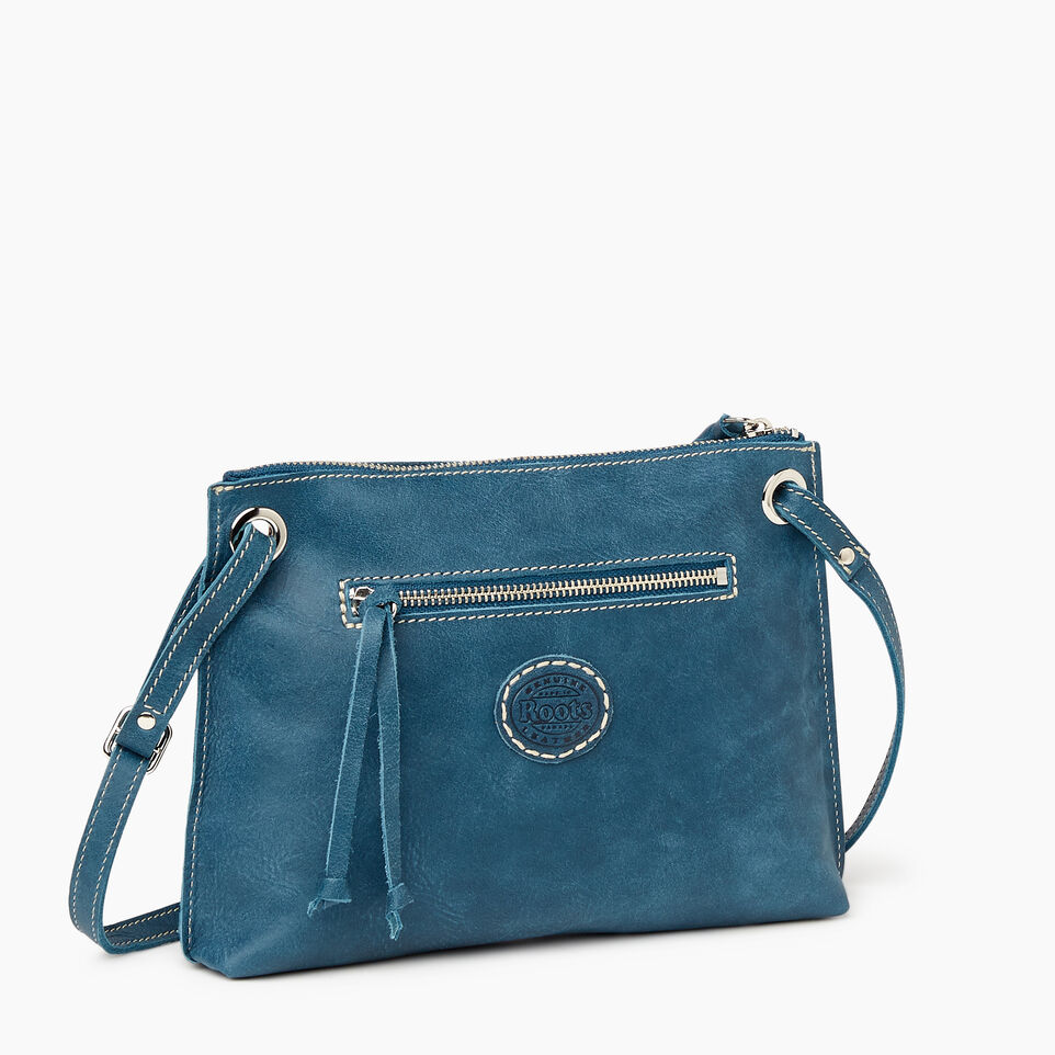 Roots-Leather Our Favourite New Arrivals-Edie Bag-Teal Green-C