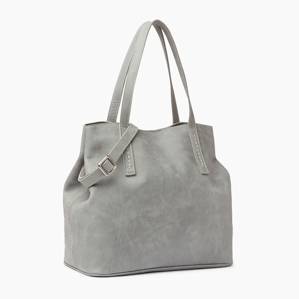 Roots-Leather  Handcrafted By Us Our Favourite New Arrivals-Amelia Tote-undefined-A
