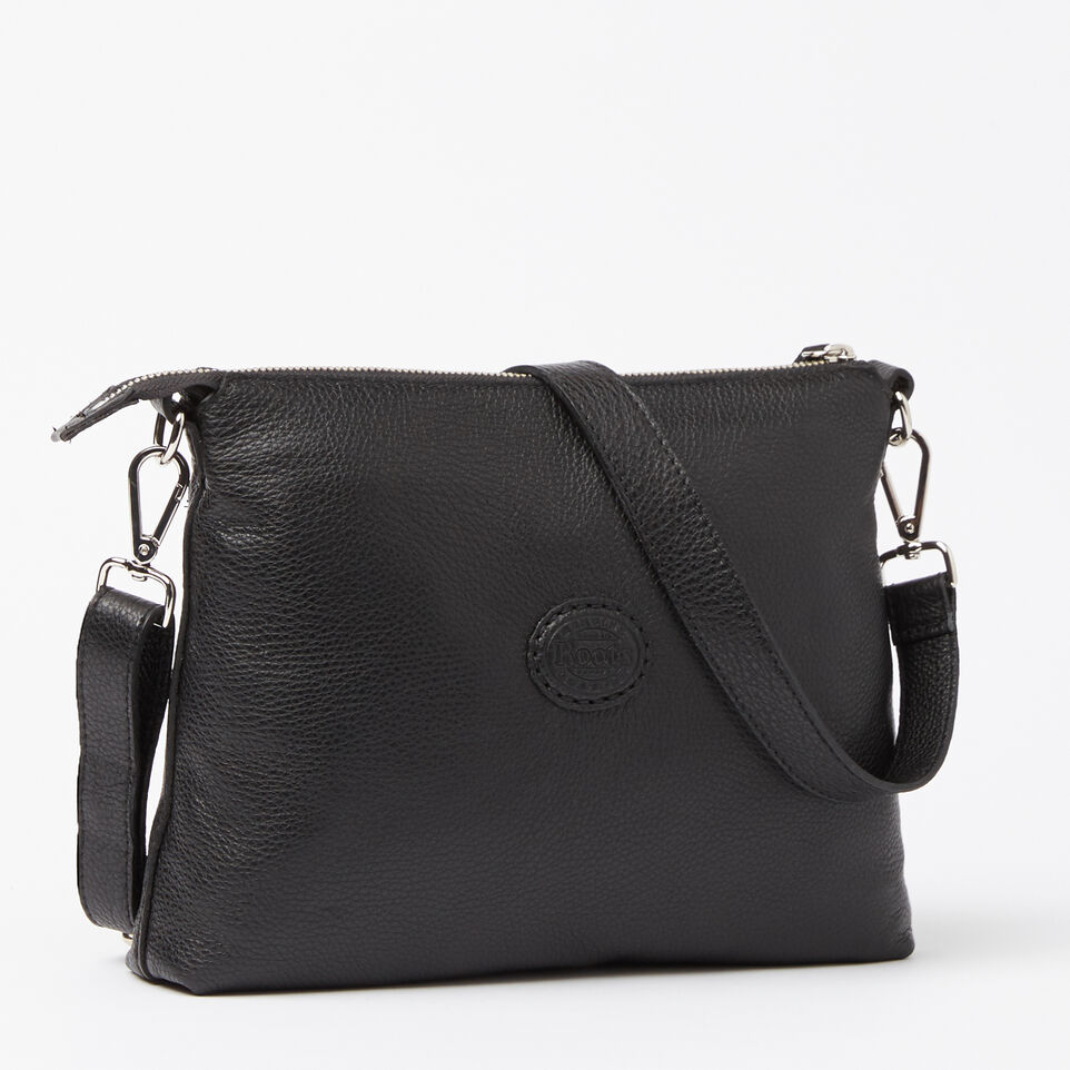 Roots-Leather Handbags-The Villager Prince-Black-C