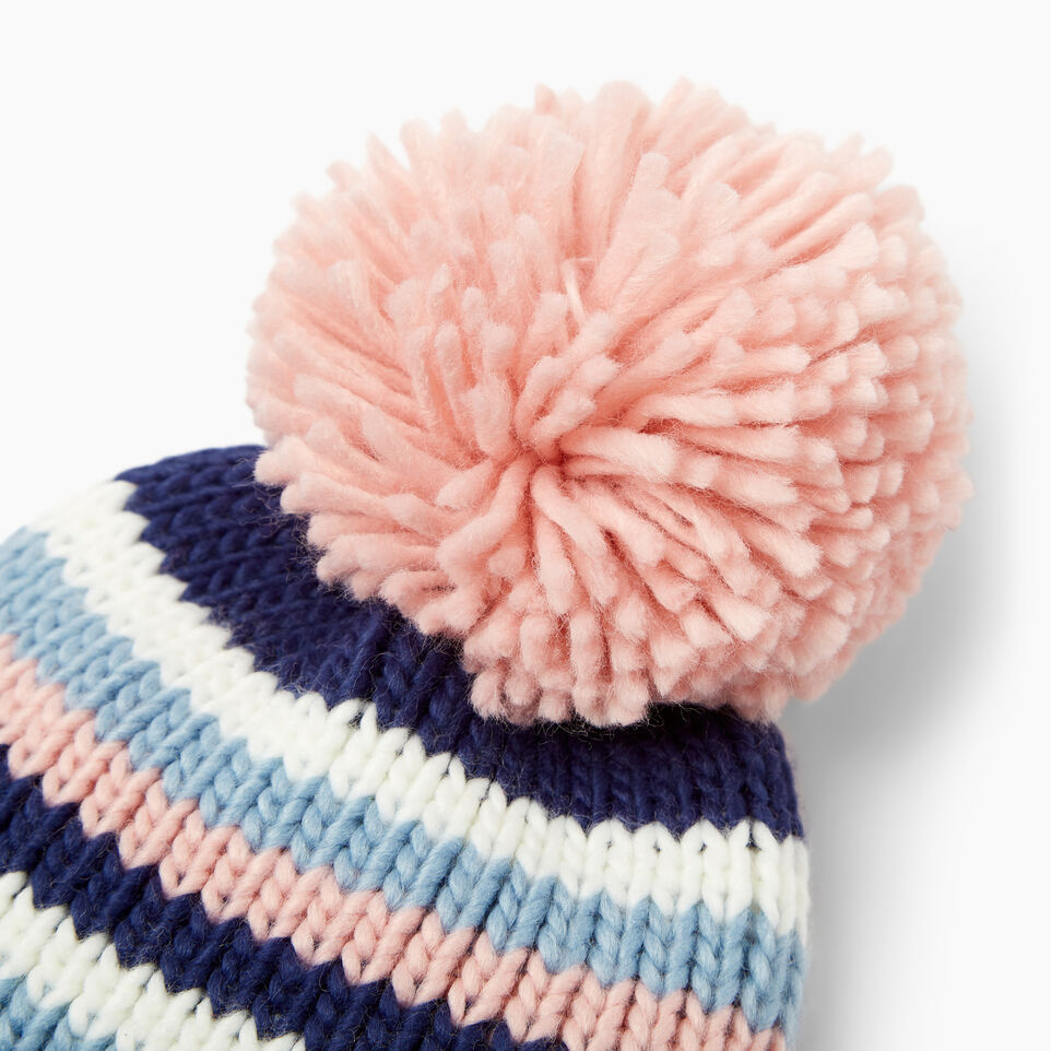 Roots-Kids Our Favourite New Arrivals-Kids Kananaskis Pom Pom Toque-Blue Depths-D