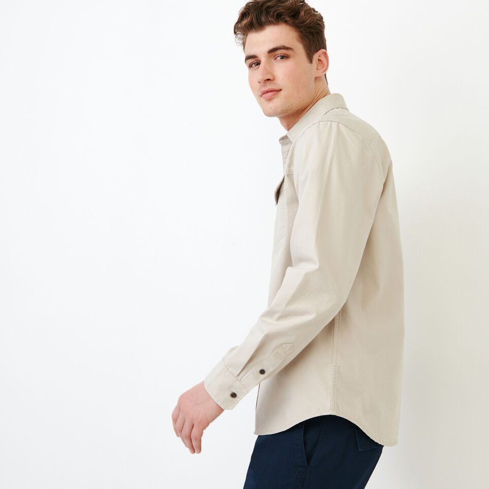 Roots-Men Shirts & Polos-Heatley Long sleeve Shirt-undefined-C