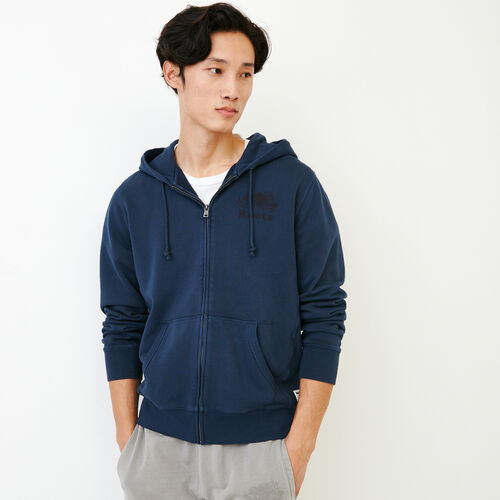 Roots-New For July Men-Sun-oka Cooper Zip Hoody-Navy Blazer-A
